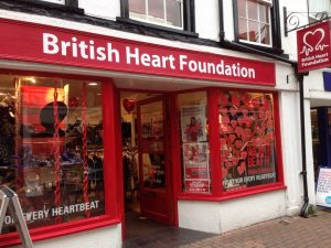 The British Heart Foundation and UK Charity Shops (3) by Lindsey.