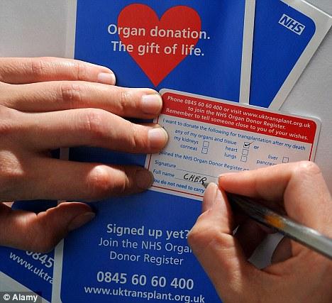 Organ transplantation (in the UK), Organ Donation (1) by Lindsey